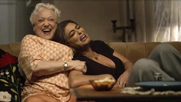 Maria da Paz é a filha que Marlene nunca teve em A Dona do Pedaço - Reprodução/TV Globo
