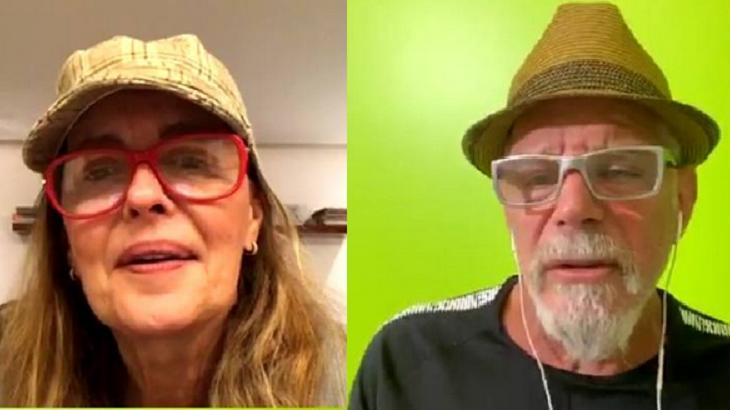 Maria Zilda e Raul Gazolla fizeram live - Foto: Reprodução/Instagram