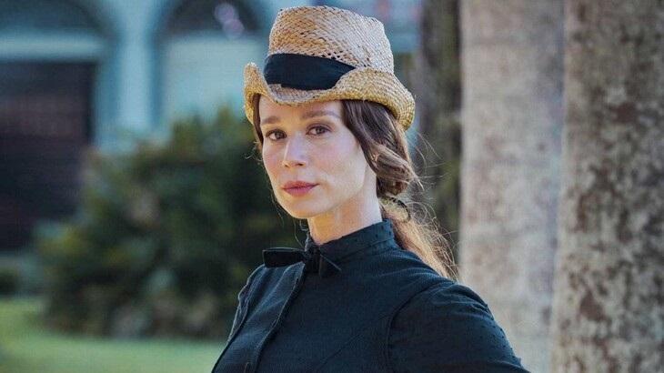 Mariana Ximenes como Luísa, a Condessa de Barral, em Nos Tempos do Imperador, próxima novela das 18h na Globo