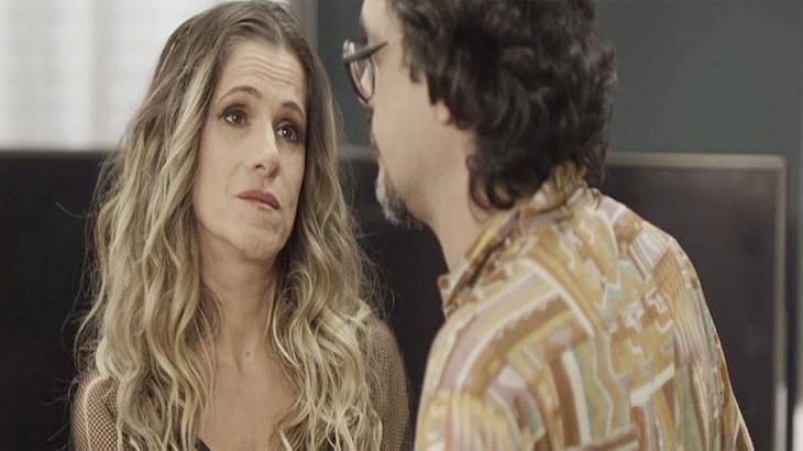 Grávida de Mário, Silvana passa mal no meio da imprensa