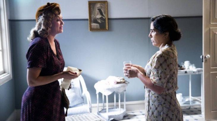 Marion e Lola no hospital - Divulgação/TV Globo