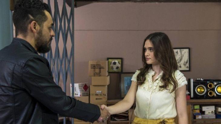 Barão e Marocas selam acordo - Divulgação/TV Globo