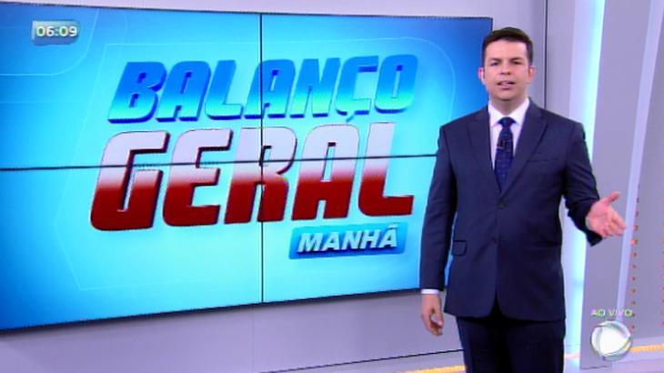 """RecordTV anuncia novo apresentador para o """"Balanço Geral SP Manhã"""""""