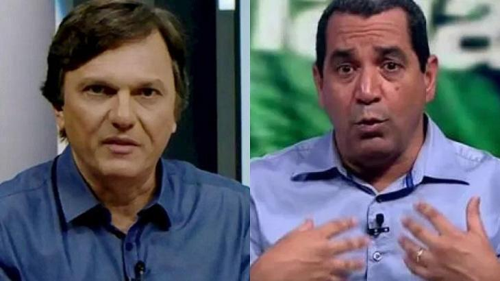 Mauro Cezar e Zinho já trocaram indiretas - Foto: Montagem