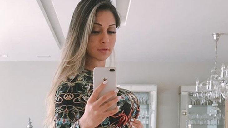 Mayra Cardi sobre gravidez: