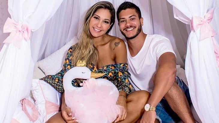 Mayra Cardi e Arthur Aguiar - Foto: Reprodução