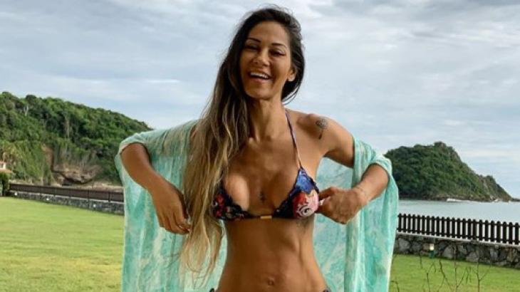 Mayra Cardi tem reação alérgica após comer castanhas: