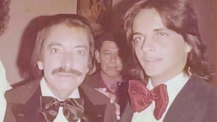Amácio Mazzaropi e André juntos