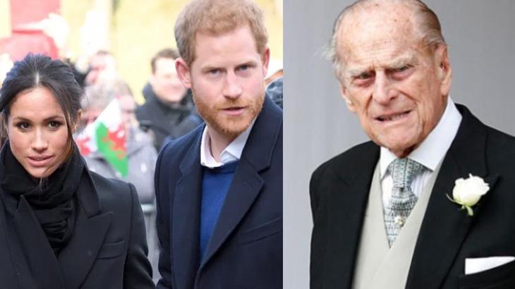 Meghan Markle, Harry e Príncipe Philip