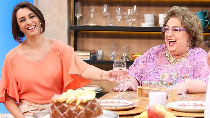 Cátia Fonseca e Mamma Bruschetta são amigas há 15 anos - Reprodução