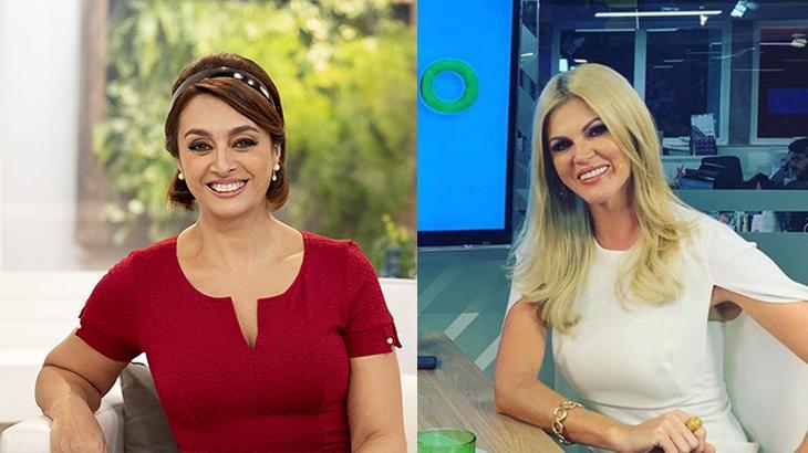 Cátia Fonseca exibe imagens de ex-Paquita sem crédito e Val Marchiori é acerto no