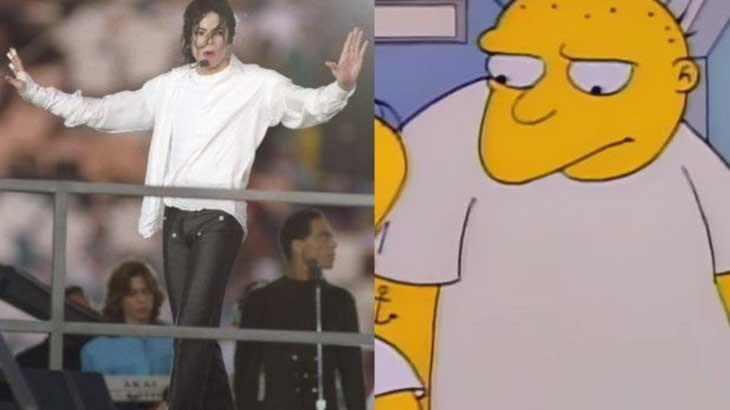 Michael Jackson e personagem que encarnou na terceira temporada em 1991