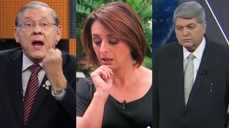 Datena elogia Cátia Fonseca após treta com Milton Neves:
