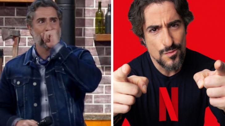 Marcos Mion na fazenda chorando e agora na Netflix