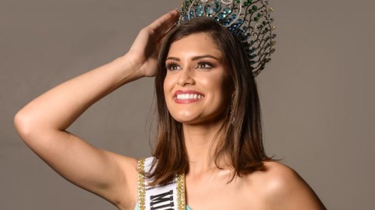 A nova Miss Brasil Mundo: a capixaba Elis Miele - Divulgação/LV Assessoria