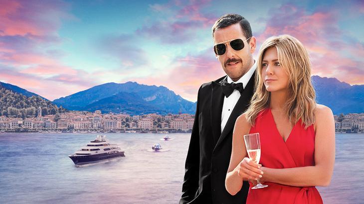 Adam Sandler e Jennifer Aniston, uma dupla que deu certo em Mistério no Mediterrâneo
