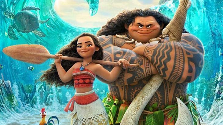 Cena do filme Moana: Um Mar de Aventuras