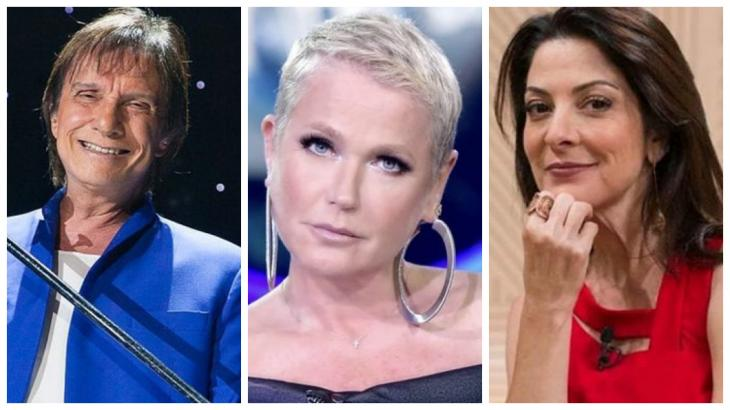 Roberto Carlos, Xuxa e Padrão estarão em especiais - Foto/Montagem/Divulgação