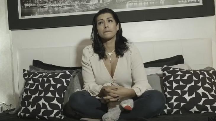 """Moranguinho explica porque perdoou Naldo após agressão e chora: """"foi necessário"""""""