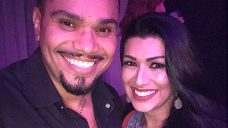 No Instagram, Naldo Benny postou declaração de amor à mulher pouco antes da denúncia