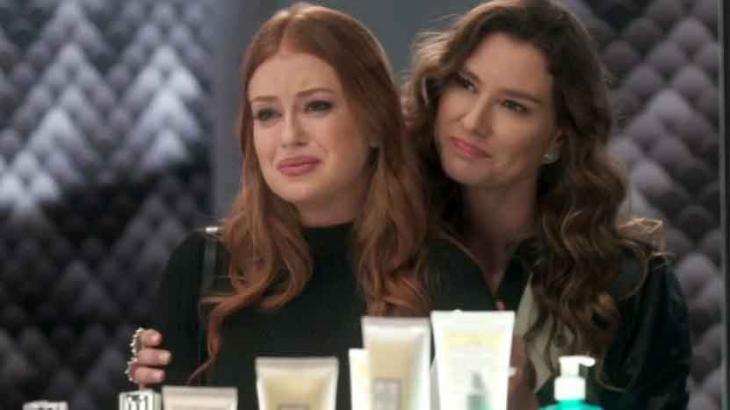 Eliza e Natasha juntas em Totalmente Demais - Divulgação/TV Globo