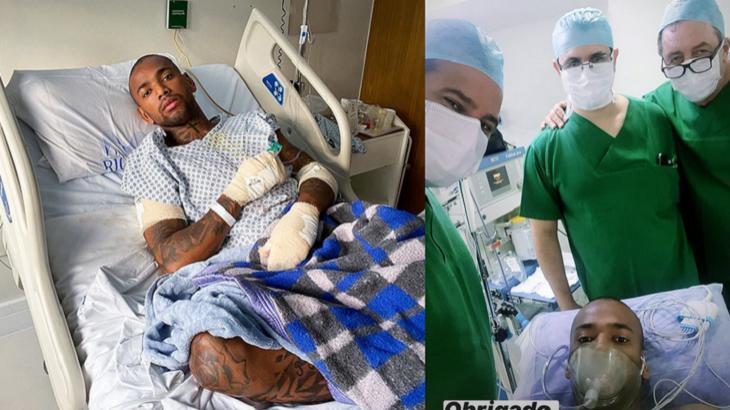 Nego do Borel no hospital - Foto: Reprodução/Instagram