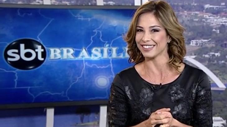 Neila Medeiros é apresentadora do SBT Brasília: Emissora focará em conceito de rede única