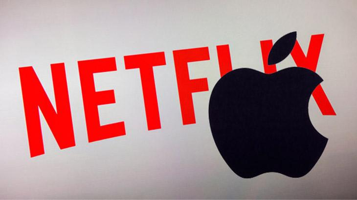 Netflix e Apple passam a ser concorrentes no streaming