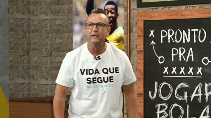 """Neto desabafa após goleada do Palmeiras em cima do Corinthians: """"Fico broxa"""""""