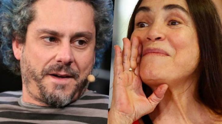 Alexandre Nero 'mata' Regina Duarte e Fábio Porchat tem crise de riso