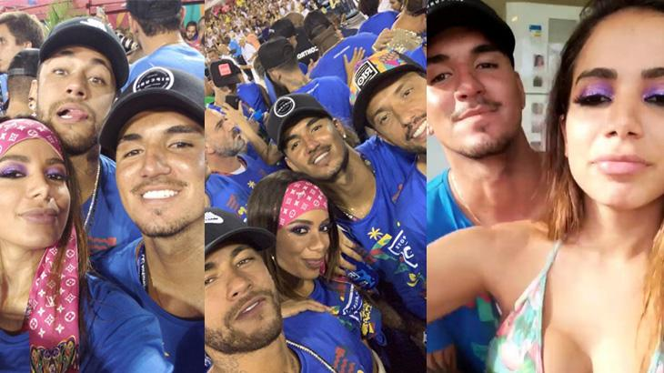 Resultado de imagem para Medina, anitta e Neymar