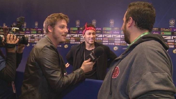 Fábio Porchat diz que Neymar não participou do seu programa por causa de Neto