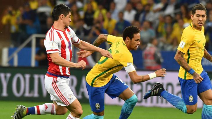 Neymar foi protagonista na partida da última terça