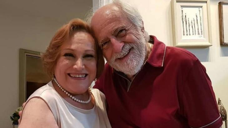 Na última semana, Ary Fontoura postou foto com Nicette Bruno pedindo orações à amiga, que morreu neste domingo (20), aos 87 anos