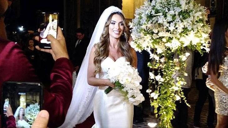 Nicole se casa com Marcelo Bimbim