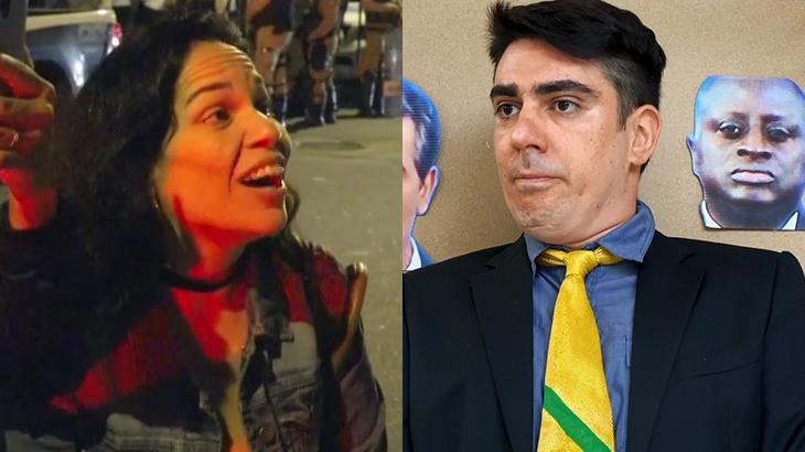 Marcelo Adnet já discutiu no Twitter com Nívea del Maestro, mulher que ofendeu vigilante no Fantástico