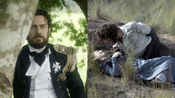 Em Novo Mundo, Thomas ficará possesso ao flagrar Anna nos braços de Joaquim - Foto: Reprodução/Globo