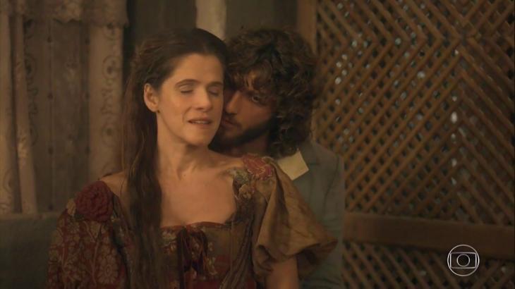 Elvira e Joaquim em Novo Mundo - Divulgação/TV Globo