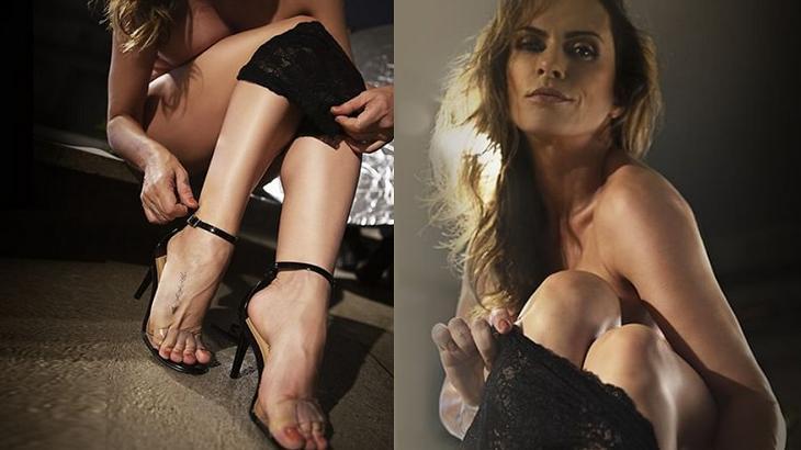 Núbia Oliiver publicou novas fotos dos pés - Foto: Reprodução/Instagram