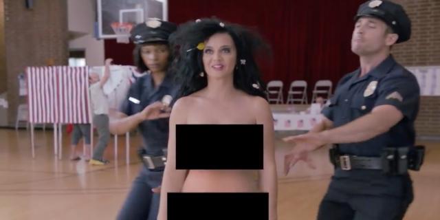 Katy Perry fica nua em vídeo para incentivar o voto nas eleições americanas