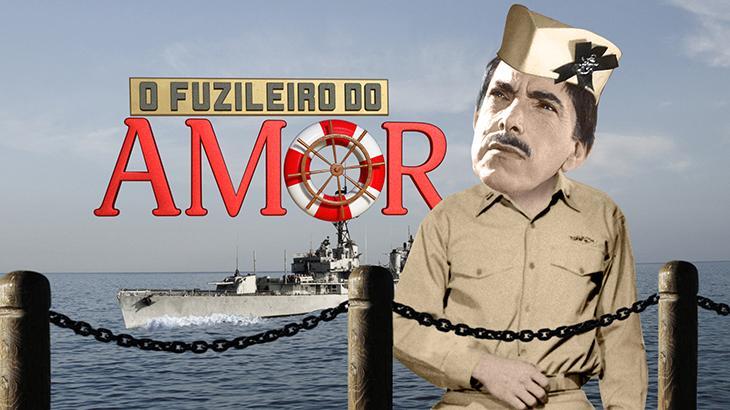 """""""O Fuzileiro do Amor"""" com Mazzaropi"""