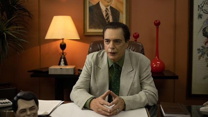 Cena da série de Silvio Santos no Star+