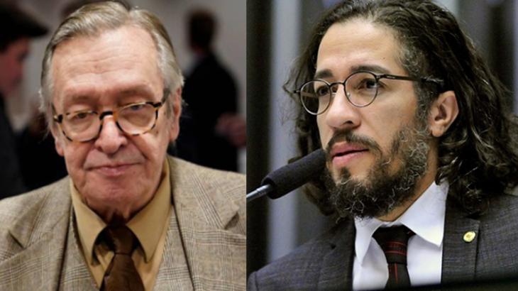 Olavo de Carvalho e Jean Wyllys
