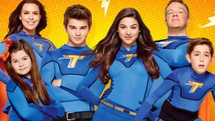 Família Thundermans posados