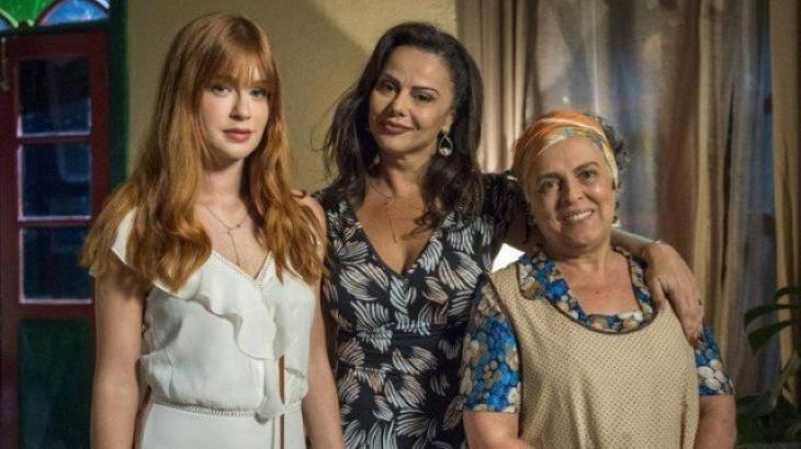 Marina Ruy Barbosa, Viviane Araújo e Guida Vianna em