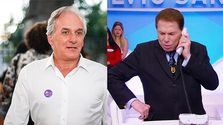 Otávio Mesquita recebe ligação de Silvio Santos e pensa que é trote de Portiolli