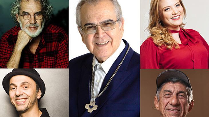 Padre Zezinho reúne famosos como Zeca Baleiro e Fagner em show ao vivo na TV Aparecida
