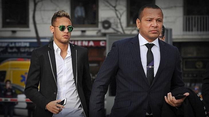 Neymar Jr. e Neymar pai