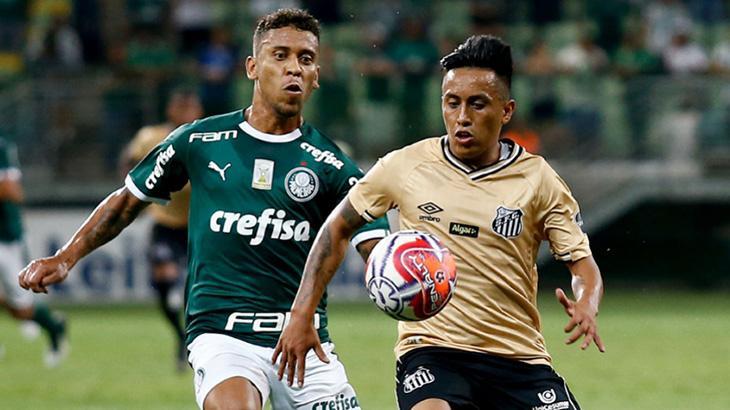 Palmeiras x Santos é o grande clássico da rodada