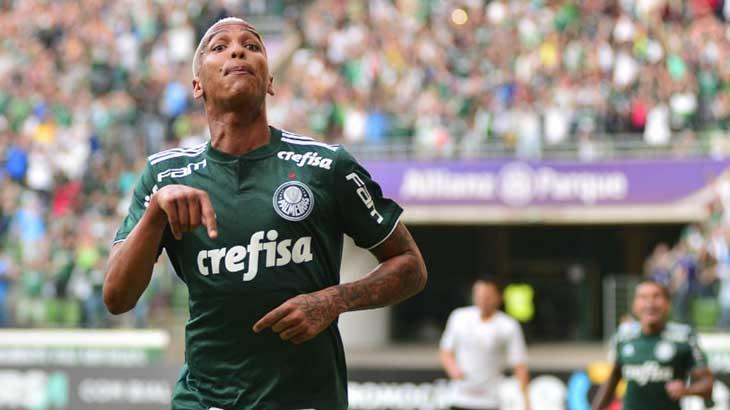 A estrela da tarde: Deyverson - Divulgação/Palmeiras